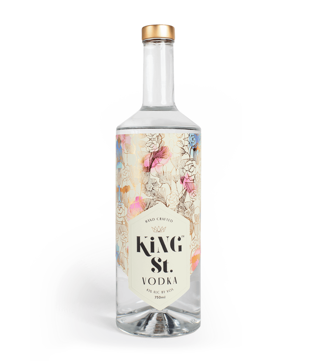 A Bottle of King Street Vodka
